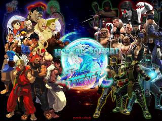 MK vs. SF: F.F.U