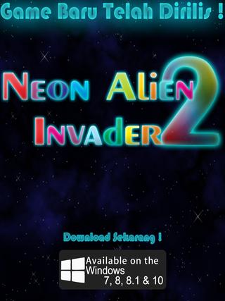 Neon Alien Invader 2