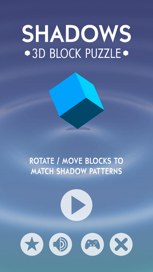 Shadows - 3D Block Puzzle