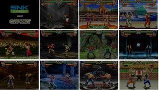 MUGEN - Snk v Capcom 2018