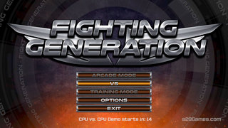 Fighting Generation Demo
