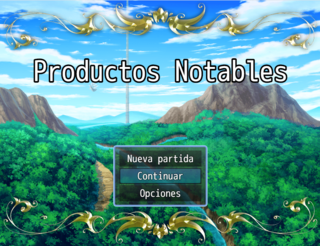 Productos Notables RPG