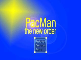 Bermain Pacman the new order
