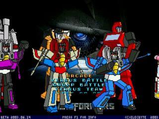 Play Transformers