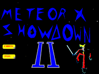 खेलें Meteor x showdown II