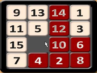 Bermain Il gioco del 15
