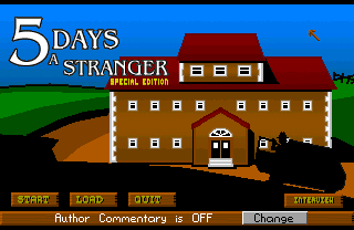 Play 5 Days A Stranger