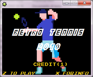 Play Retro Tennis