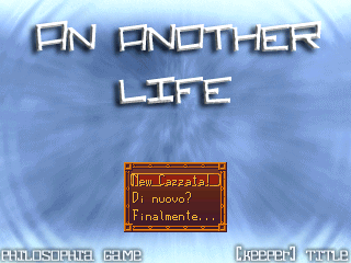 プレイ AN ANOTHER LIFE