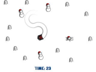 بازی کنید Snowmen Crasher