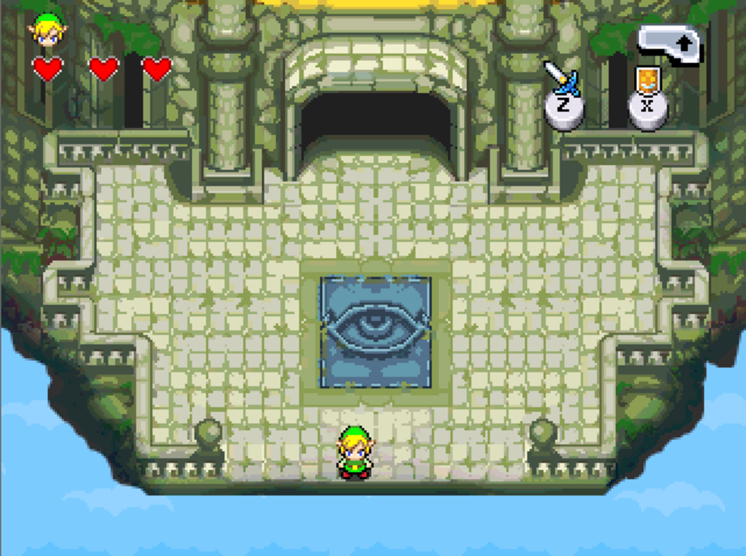 Play Zelda dungeon