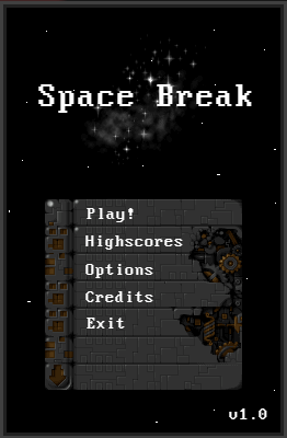 Spelen Space Break