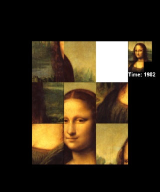 Bermain The Monalisa Puzzel