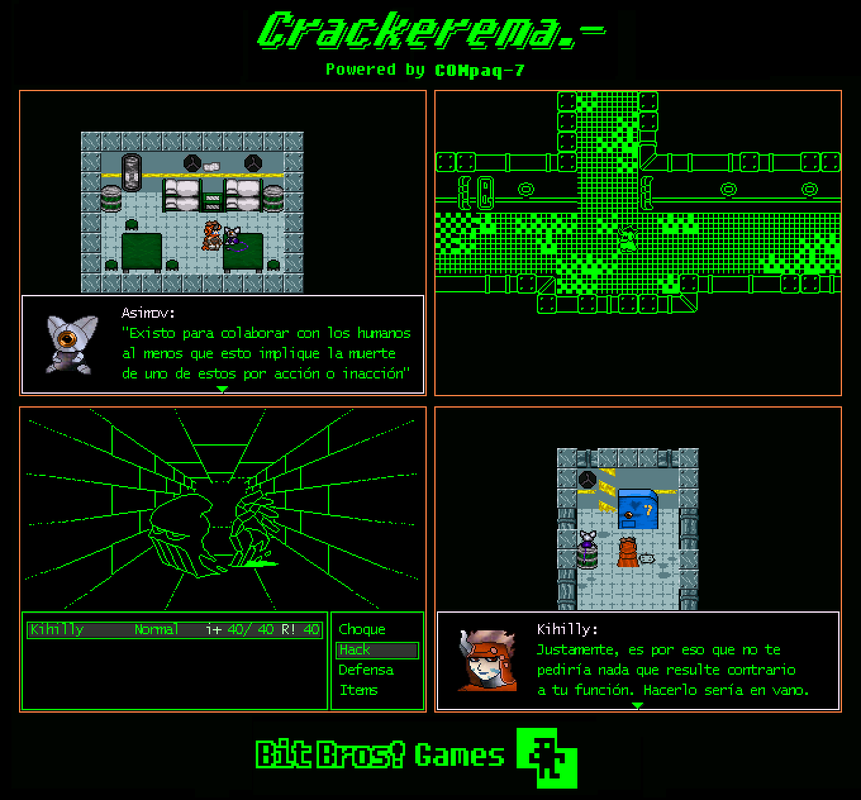 Play Crackerema.-