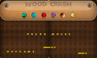 Spielen Wood Crash