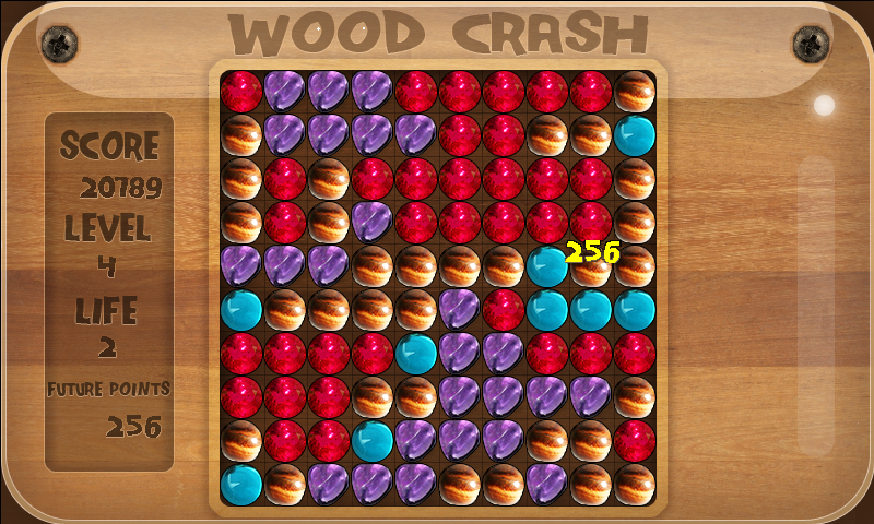 Spielen Wood Crash (Andro)