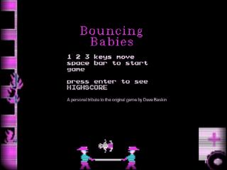 게임하기 Bouncing babies