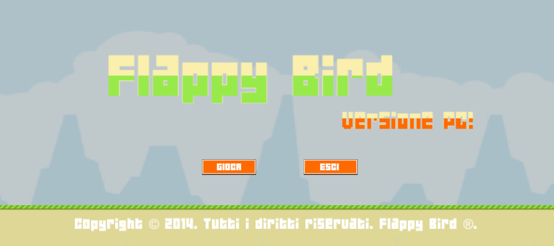 Play Flappy Bird PC!