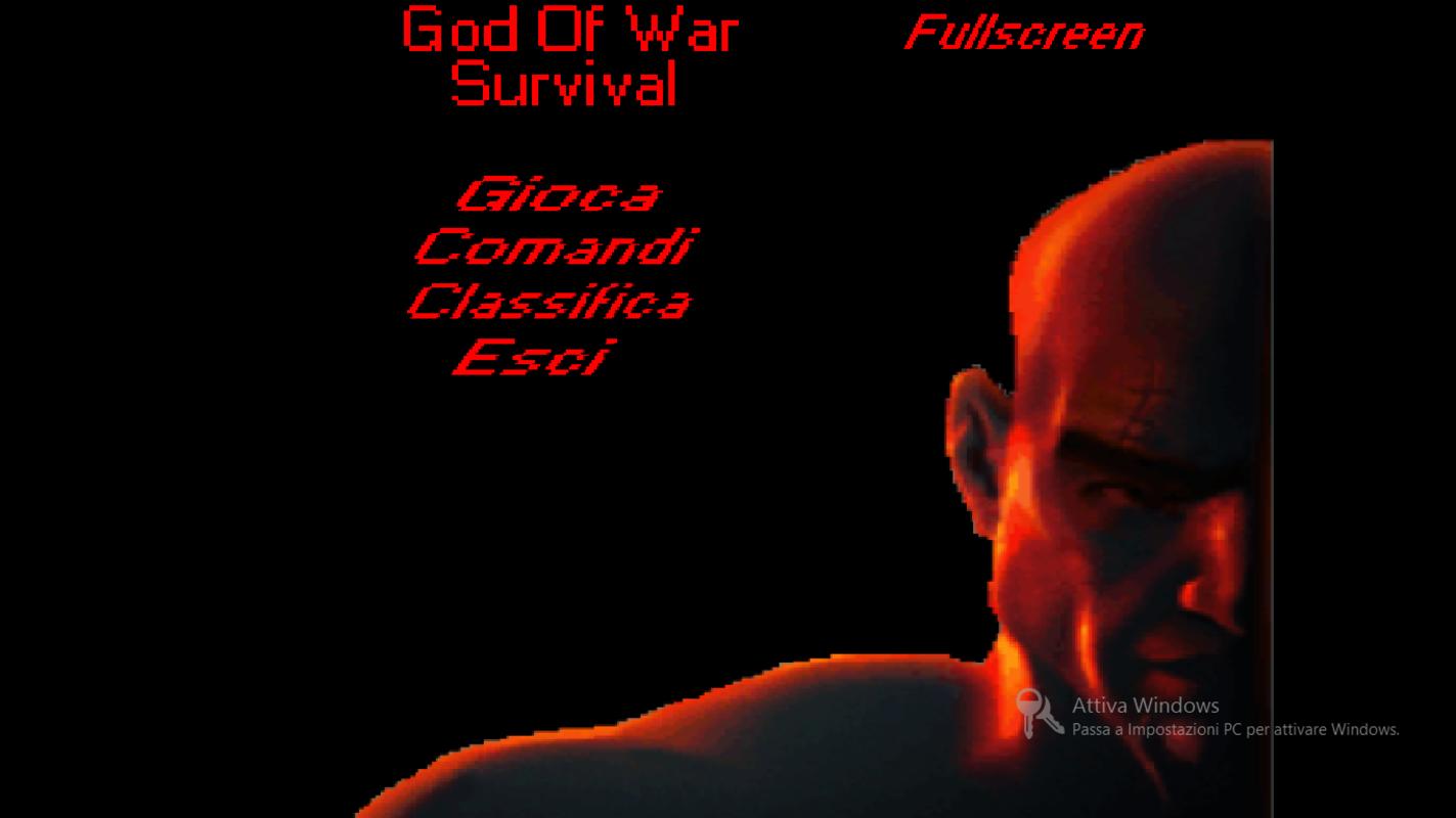 Play God Of War Survival