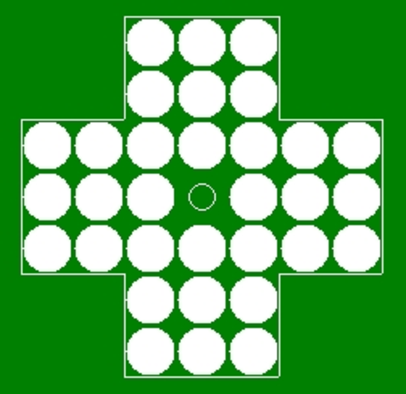 Play PEGGY (PegSolitaire)