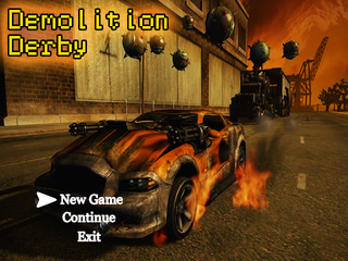 Играть Demolition Derby