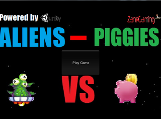 게임하기 Aliens VS Piggies