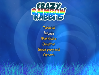 Играть Crazy Rainbow Rabbits
