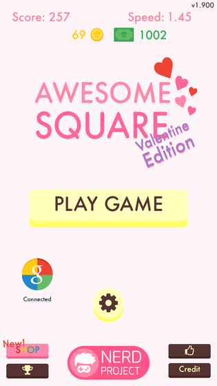 玩 Awesome Square