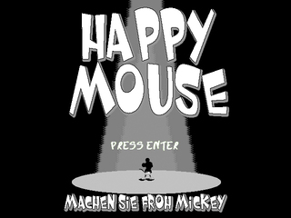 Really Happy Mouse