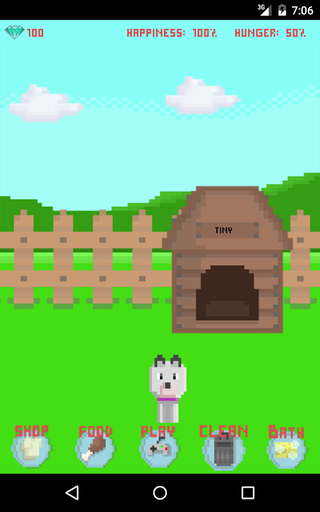 Play Pixel Doggy