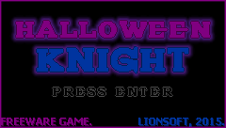 Spielen Halloween Knight