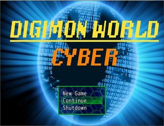 プレイ Digimon World Cyber