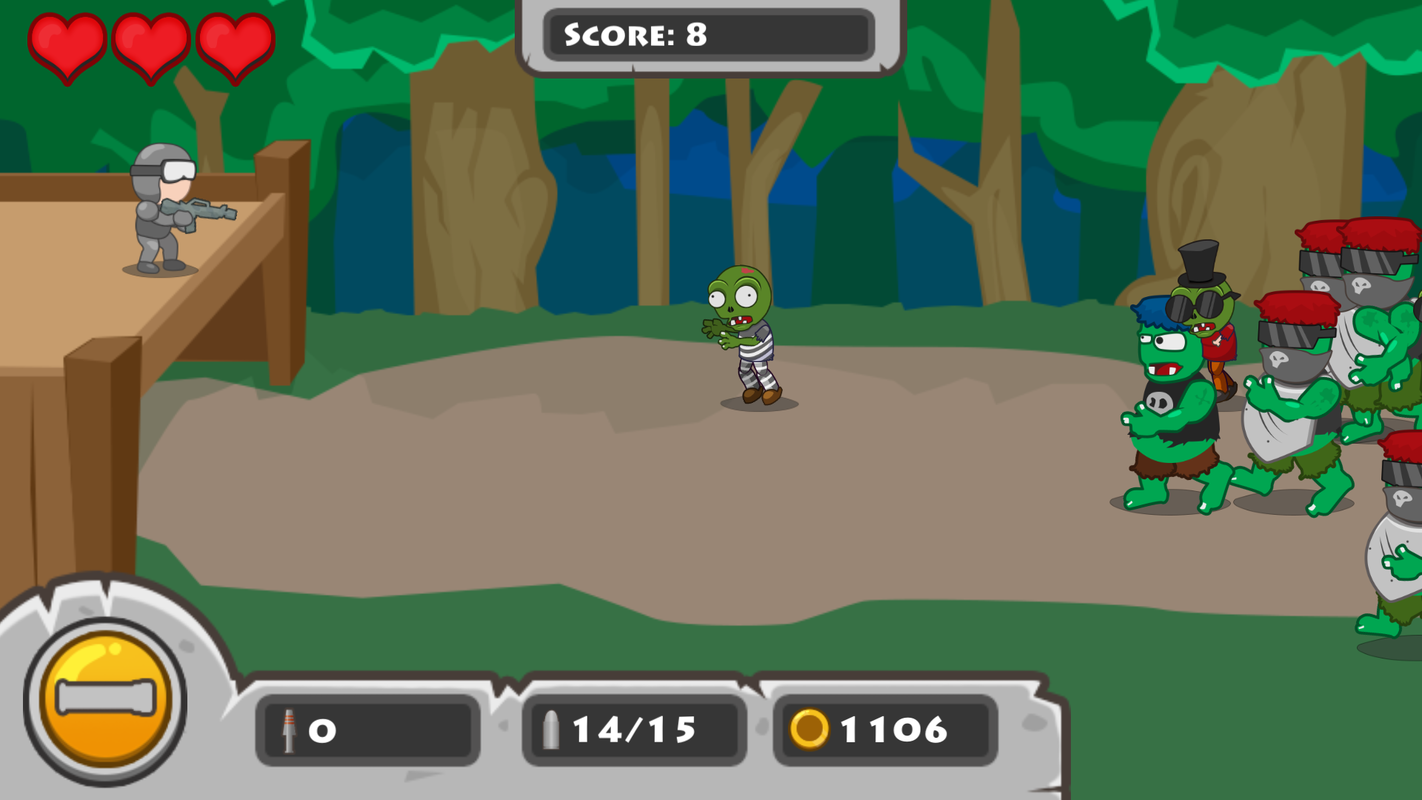 Play Attack of Zombies