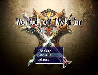 玩 World of Wykrim (Alpha)
