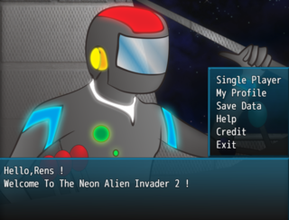 Play Neon Alien Invader 2