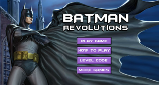 プレイ Batman Revolutions