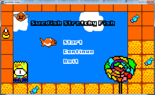 Spelen Swedish Stretchy Fish