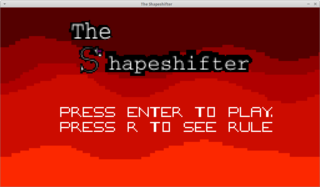 玩 The Shapeshifter