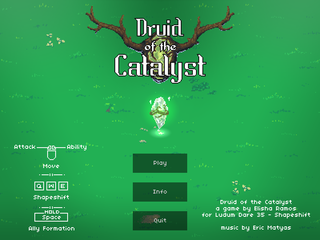 プレイ Druid of the Catalyst