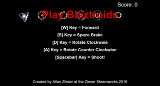 Play Blaztroids Online