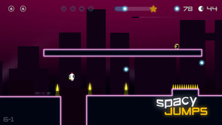 Играть Spacy Jumps