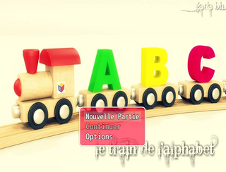 Play le train de l'alphabet