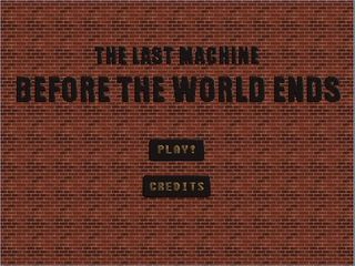 Play The Last Machine