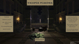 Bermain Temple Plunder