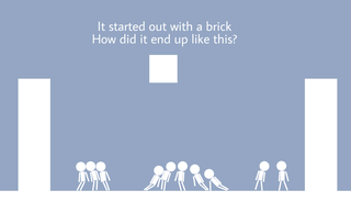 Играть It Started With A Brick