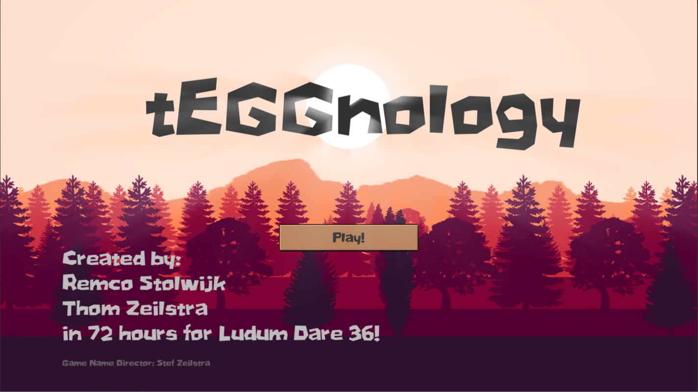Play tEGGnology