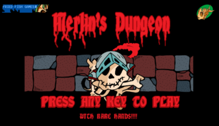 Bermain Merlins Dungeon