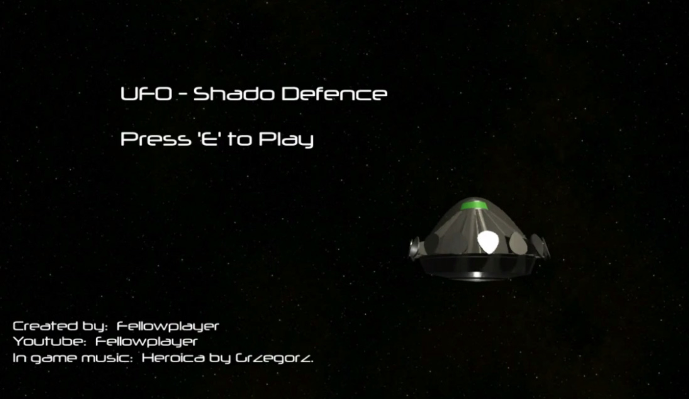 Play UFO-Shado Defence
