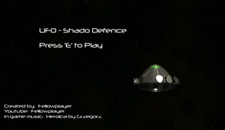 Bermain UFO-Shado Defence