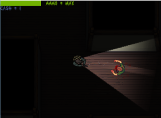 玩 Zombie Gaunt